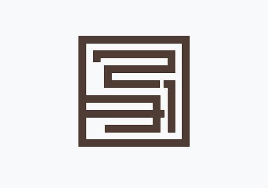 ニイミ写真舘  ロゴマーク