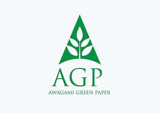 アワガミ グリーンペーパー  ロゴマーク