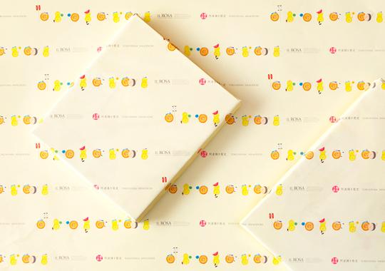 イルローザ 阿波踊り包装紙